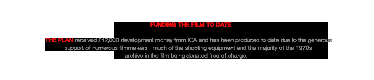 fundingthefilmtodate
